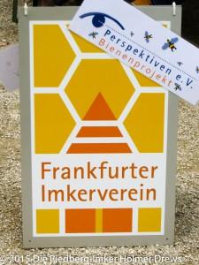 Frankfurter Imkerverein und der Verein Perspektiven