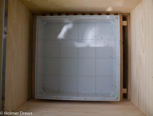 Plastikschale für die Ameisensäure