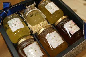Honigsortiment in Geschenkverpackung