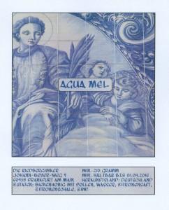 Etikett für unser Agua mel
